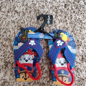 Other - Toddler Paw Patrol Flip Flops
